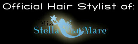 D-parrucchieri - Official Hair Stylist of Miss Stella del Mare 2013